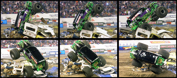 Randy Brown - Grave Digger - Indianapolis Freestyle