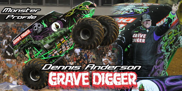 Allmonster Com Dennis Anderson Of Grave Digger Monster Profile