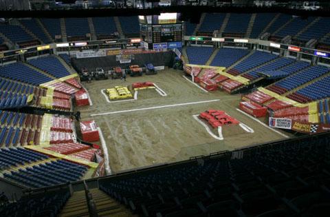 Arco Arena Floor