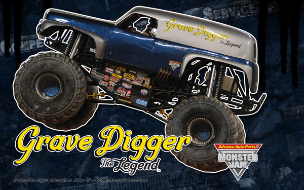 Grave Digger The Legend Wallpaper Preview