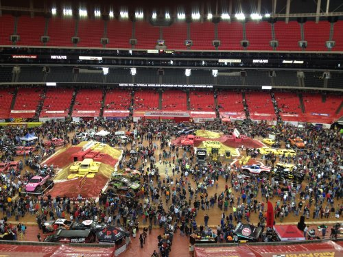 Atlanta Monster Jam 2012