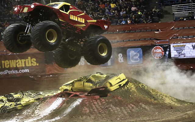 iron man monster truck