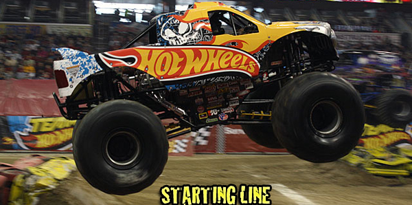 Starting Line - Hot Wheels