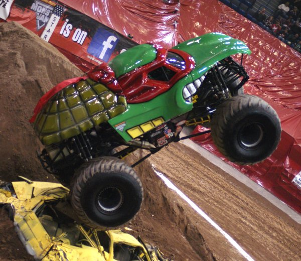 Monster Jam - Coming To A City Near You.