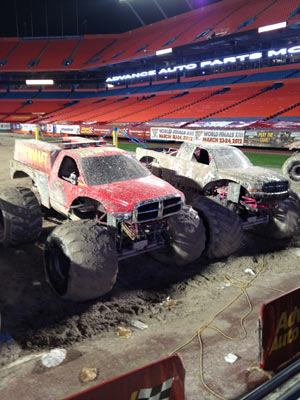 Backdraft - Eradicator - Miami Monster Jam