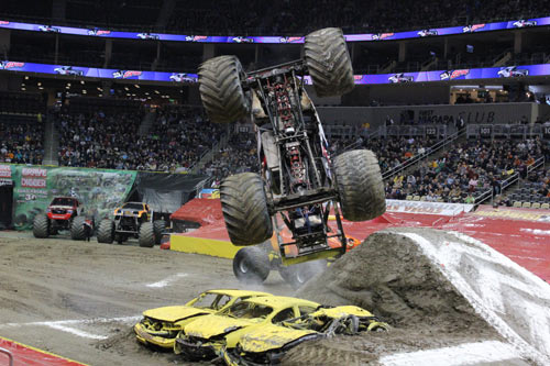Jeff Anderson - Spike - Monster Jam - Pittsburgh