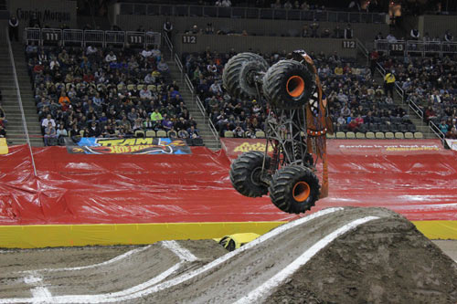 Chris Bergeron - Brutus - Monster Jam - Pittsburgh