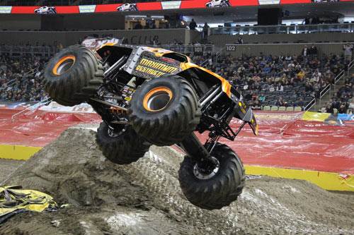 Tom Meents - Maximum Destruction - Monster Jam - Pittsburgh