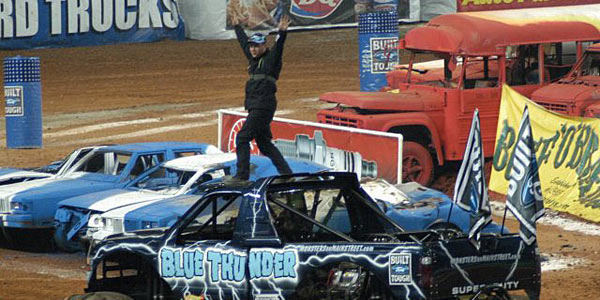 Lee O'Donnell - Blue Thunder Racing Win in Atlanta