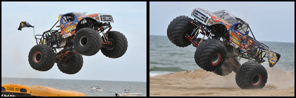Steve Sims - Stone Crusher - Monsters On The Beach 2012
