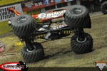 Advanced Auto Parts Grinder - Frank Krmel - Hampton Monster Jam 2012