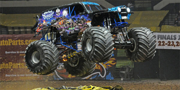Ryan Anderson - Son-Uva Digger - Hampton Monster Jam 2012