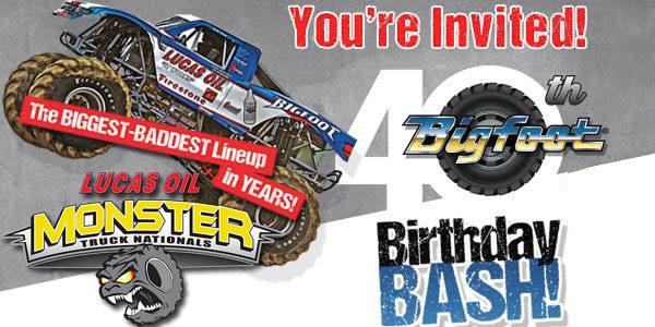 2015 Lucas Oil Monster Truck Nationals Tour - Bigfoot Birthday Bash