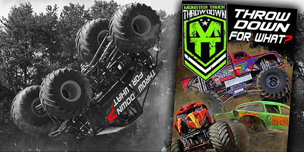 Throw Down For What - Monster Truck DVD