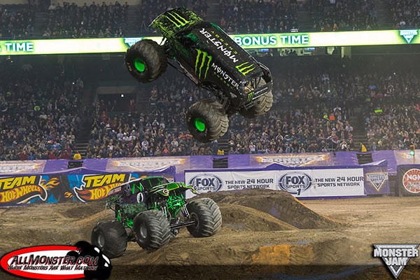 Damon Bradshaw - Monster Energy - Anaheim Monster Jam 2015