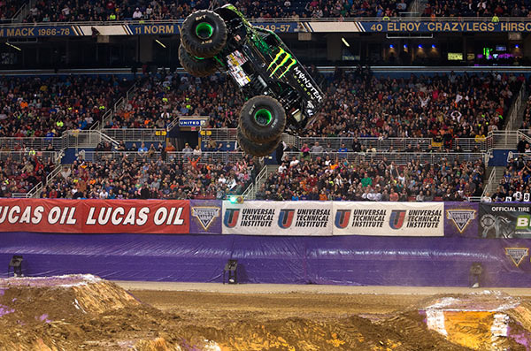 Damon Bradshaw - Monster Energy - St. Lois Monster Jam 2015