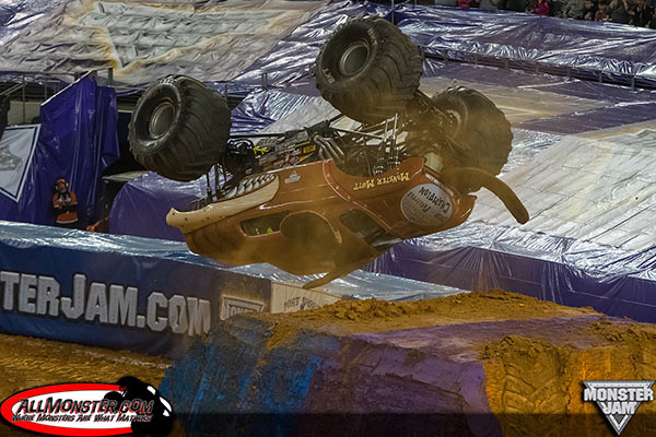 Dustin Brown - Monster Mutt - Arlington Monster Jam 2015