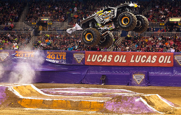 Neil Elliott - Max-D - St. Louis Monster Jam 2015