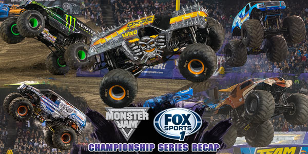 Monster Jam Fox Sports 1 Championship Series