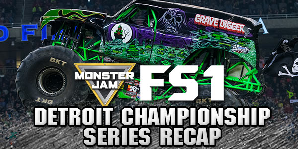 Detroit Monster Jam FS1 Championship Series 2016