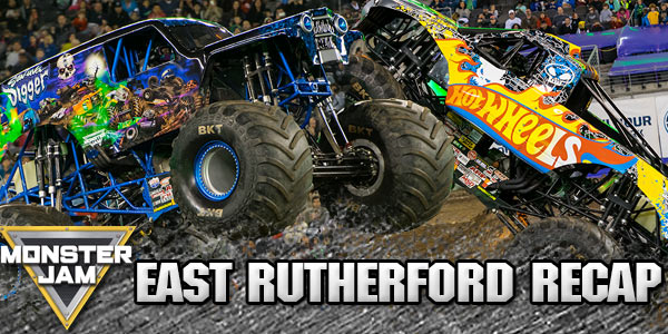 East Rutherford Monster Jam 2016
