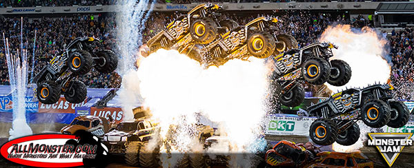 Tom Meents - Max-D Stunt - East Rutherford Monster Jam 2016