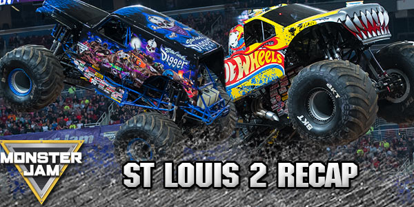 St. Louis Monster Jam 2016 2 Recap
